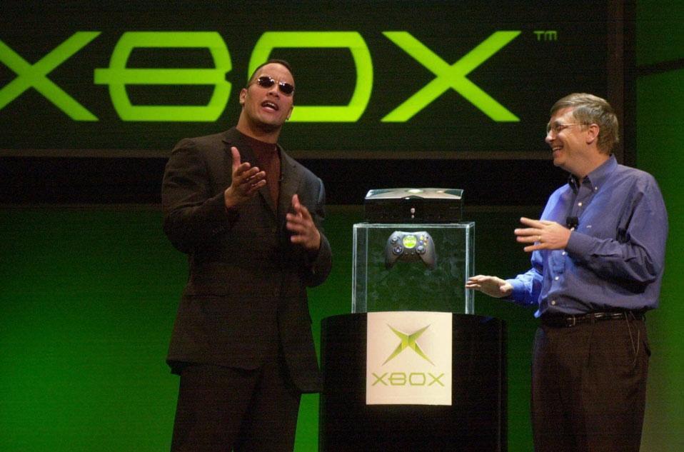 Launch of the original Xbox